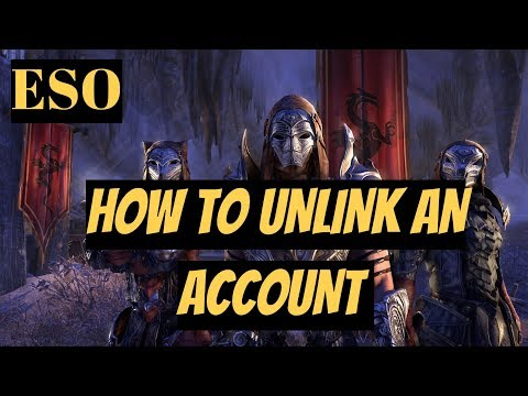 Elder Scrolls Online How To Unlink An Account - Remove account - Sign Out