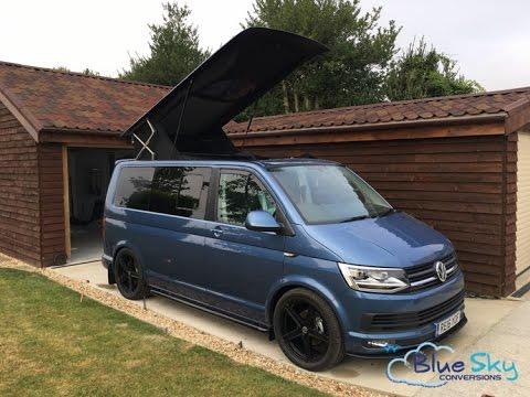 2016 Volkswagen Camper Van >> T6 2016 Camper Conversion by Blue Sky - YouTube