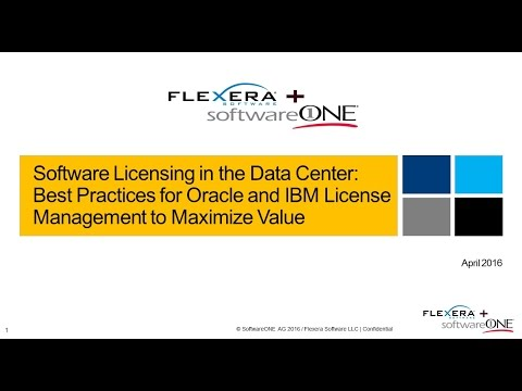 Best Practices for Oracle and IBM License Management to Maximize Value