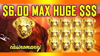 """$6.00 💥HUGE MAX💥 $$$ - 🐂BUFFALO GOLD SLOT🐂 - """"WITHOUT HEAD - YOU"""