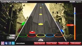 Guitar Flash Orkut - Crystal Night - Angels Holocaust  100% FC Hard by Leon