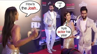 Shilpa Shetty's Sweetest Gesture Praising Vicky Kaushal's Acting In URI At Filmfare Awards 2019