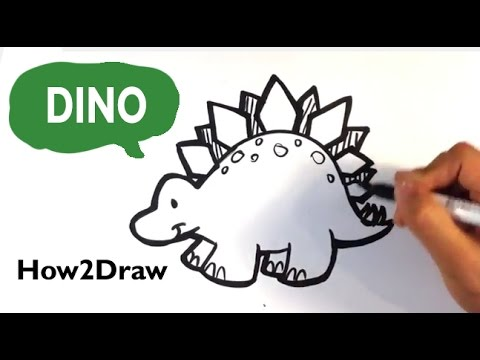 how to draw all dinosaurs
