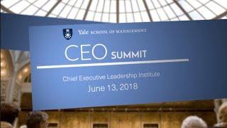 CEO Summit: Chief Executive Leadership Institute, June 13, 2018