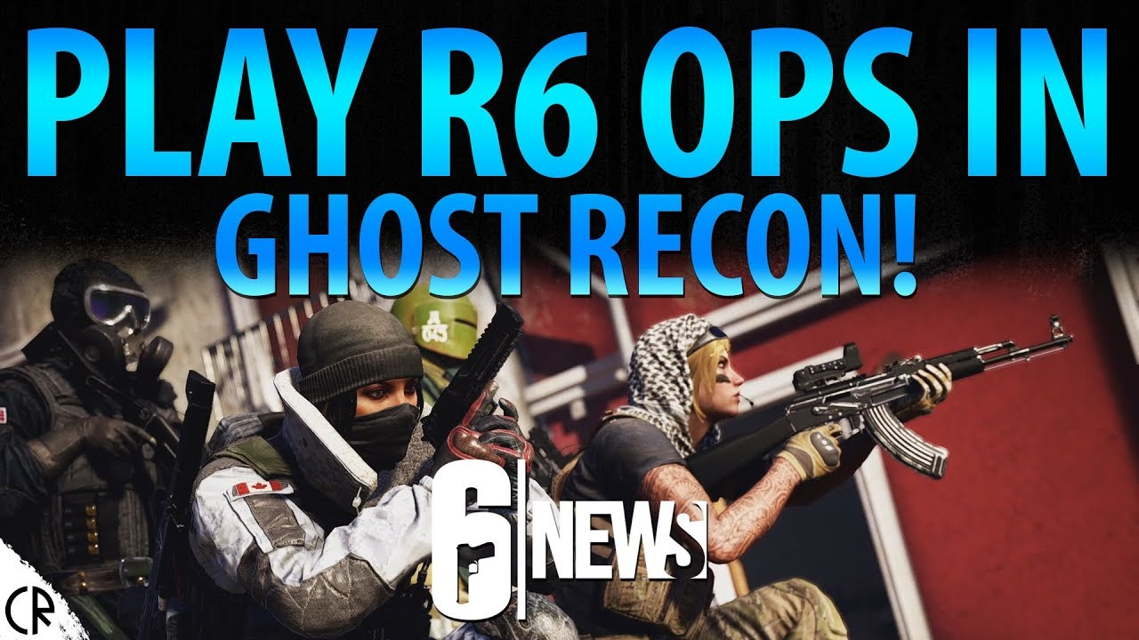 Ghost Recon Wildlands - Rainbow Six Siege Outfits & Skins ... |Ghost Recon Rainbow Six