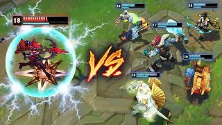 THE ULTIMATE 1v5 OUTPLAYS MONTAGE - League of Legends