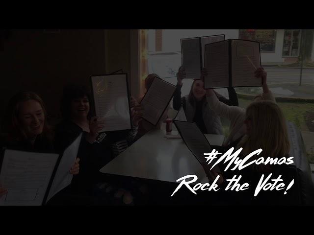 #MyCamas Series: Rock The Vote at Natalia's Cafe