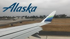 Alaska Airlines E175 steep and fast takeoff from Santa Ana (SNA)