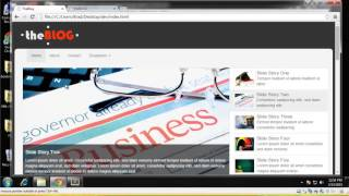 Learn how to build a Blog website using Twitter Bootstrap   Part 2