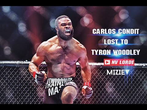 Carlos Сondit was injured after a powerful kick in the leg from Tyron Woodley | NV Lorde