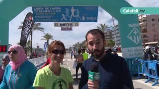Calafell esportiu | Cursa de l'aigua i Cross Escolar 2017