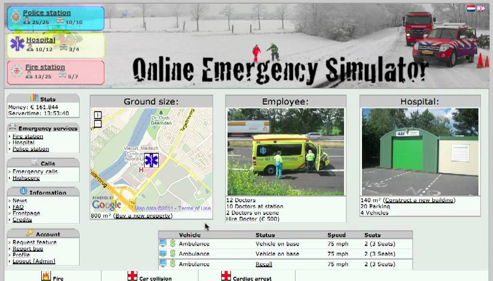 Online Emergency Simulator - Other Games - International Emergency