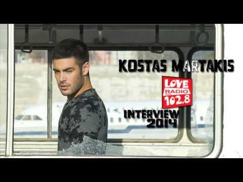 "Kostas Martakis - ""Love Radio Crete 102.8"" Interview 2014 [FULL]"