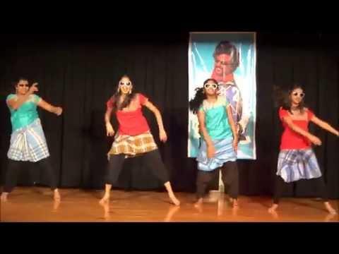 Shakthi Tamil Sangam 2014 Lungi Dance