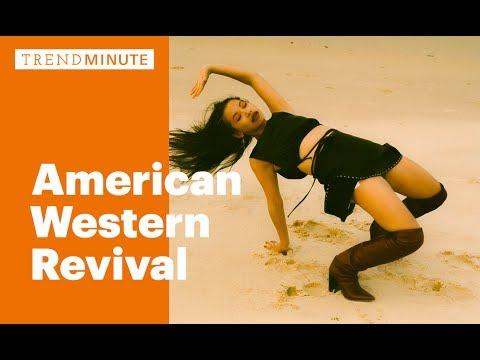 Trend Minute: American Western Revival