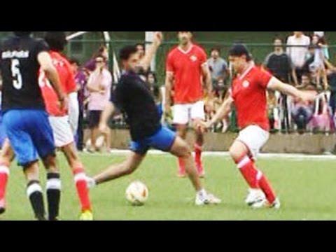 Charity Football Match |  Aamir Khan, Hrithik Roshan, Abhishek Bachchan & Salman Khan | Part 1