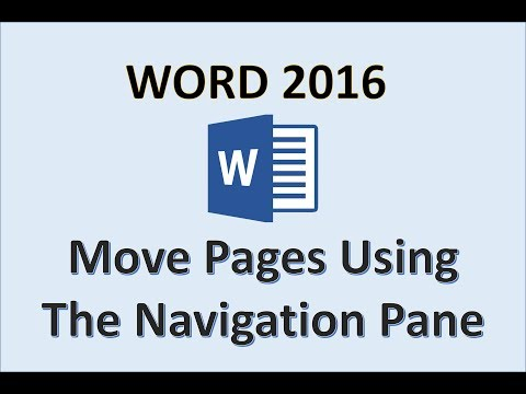 word-2016---move-pages---how-to-rearrange-reorder-arrange-a-page-in-microsoft-office-365---nav-pane