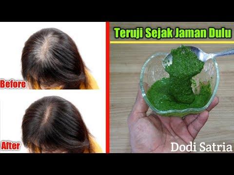 Atasi Rambut Putih Jadi Hitam Dengan Herbal Ini...Manjur !!!