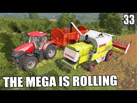 THE MEGA IS ROLLING | Shamrock Valley | Farming Simulator 17