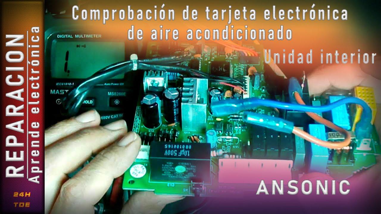 Comprobaci 243 N De Tarjeta Electronica De Aire Acondicionado