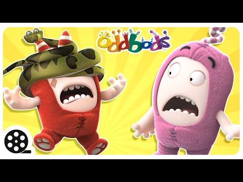 Cartoon   Oddbods - Animal Attack   Mini Cartoon Movie   Funny Cartoons