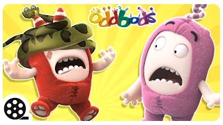 Oddbods - Animal Attack | Funny Videos For Children