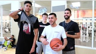 BASKETBALL CHALLENGE FOR BRAND NEW PAIR OF SHOES! (LSK & JesserTheLazer Collab!)