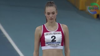 Italian Athletics Indoor 2019 | W High Jump | ᴴᴰ