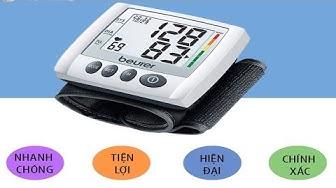 Review máy đo huyết áp điện tử cổ tay Beurer BC30: Nhanh, gọn, tiện lợi, chính xác
