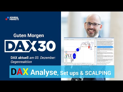 DAX aktuell: Analyse, Trading-Ideen & Scalping | DAX 30 | CFD Trading | DAX Analyse | 03.12.19