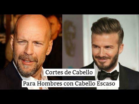 Cortes de cabello Para Hombres con Cabello Escaso // By Diana Villate Video