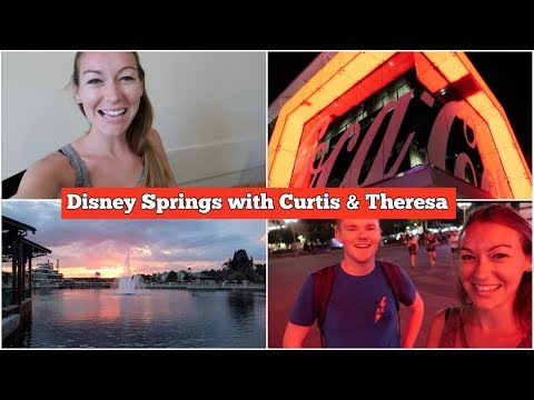 Disney Springs with Friends - Coca-Cola Rooftop Bar & Ghirardelli's  l Disney CRP  l aclaireytale