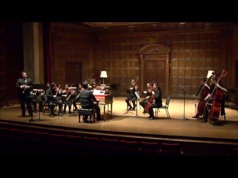 Antonio Vivaldi: Violin Concerto in A minor, RV 356; Steve Felix, piccolo trumpet