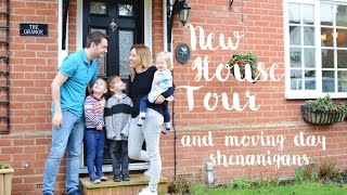 the moving day vlog and new house tour | dear beautiful