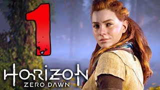 HORIZON ZERO DAWN [Walkthrough Gameplay ITA HD - PARTE 1] - LA TERRA NON È PIÙ NOSTRA (Nuova Serie)