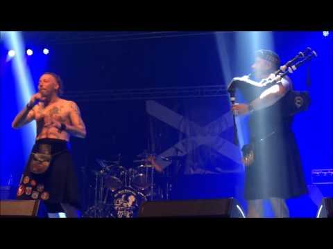 The Black Tartan Clan - Toora Loora (Live - PPM Fest 2014 - Mons - Belgium)