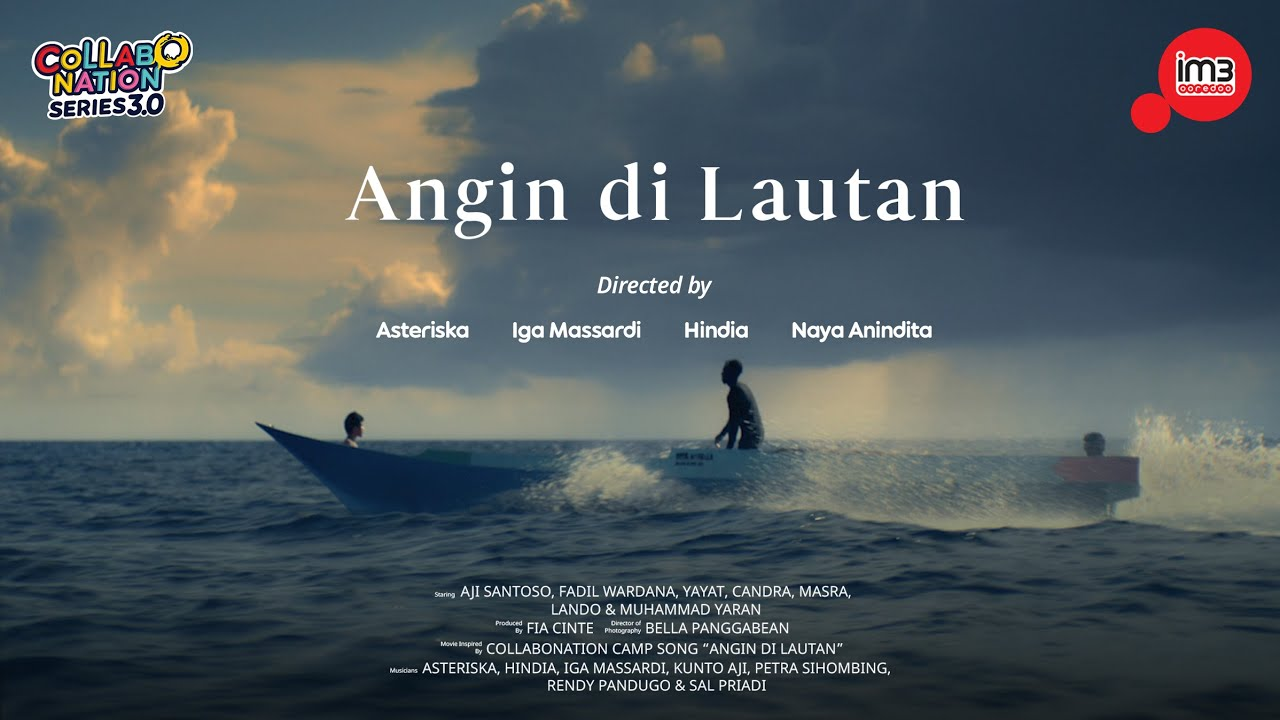 Angin di Lautan by Iga Massardi, Asteriska, Hindia, Naya Anindita   #Collabonation Series 3.0