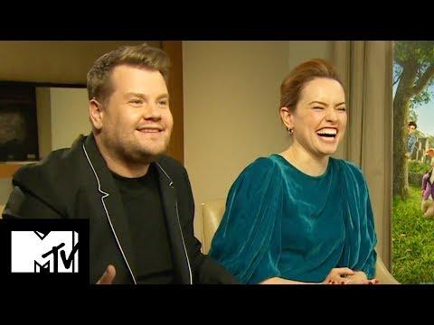 Daisy Ridley And James Corden Talk STAR WARS Cameo | MTV Movies streaming vf