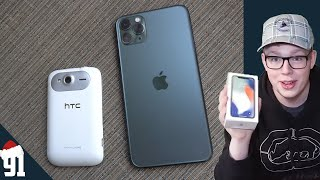 Every Smartphone I've Used! - 91Tech