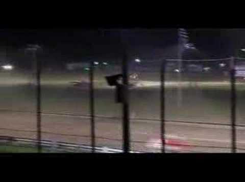 Whip City Speedway : Quad 4 Feature Race June 21, 2008