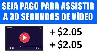 A Cada Vídeo que Você Assistir = Ganhe $2,05 + GRÁTIS no PayPal [COM PROVA] Ganhar Dinheiro Online