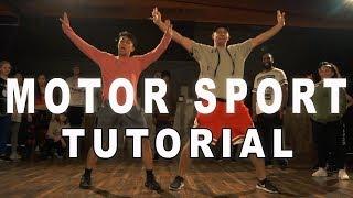 MOTOR SPORT - Cardi B & Nicki Minaj Dance TUTORIAL | Matt Steffanina Choreography