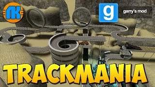 RACE TRACK FROM THE GAME TRACKMANIA \ GAME Garry