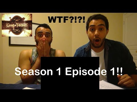"""Game of Thrones Season 1 Episode 1 REACTION!! """"Winter is Coming"""""""