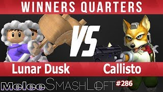 SL SSBM #286 - Lunar Dusk (Ice Climbers) vs Callisto (Fox) - Winners Quarters