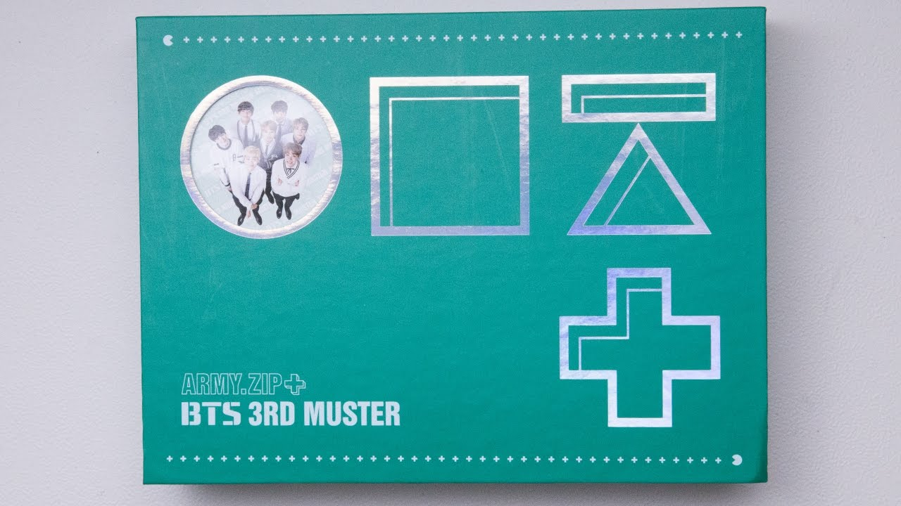 Bts 3rd Muster Army Zip Player Card Photocard Depop 5
