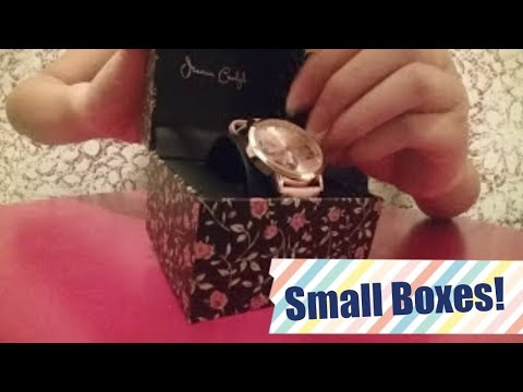 ASMR Theme: Small boxes! (Fast tapping and scratching) NO TALKING