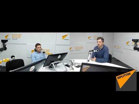 Sorin Colceag - interviu în studioul Radio Sputnik Moldova