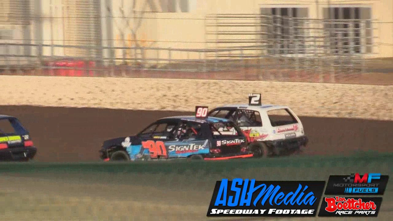 Junior Sedans Race Highlights Feb Rockhampton Speedway