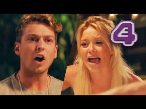 Liv Throws Drink Over Sam In Heated Argument | Made In Chelsea